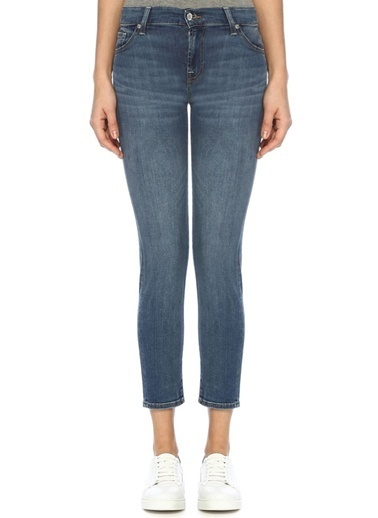 7 For All Mankind Pantolon Mavi